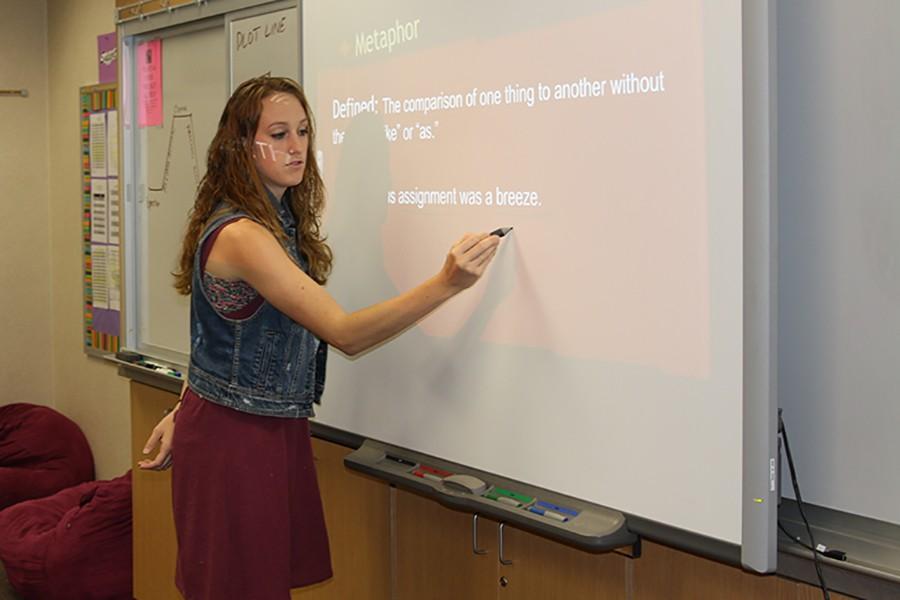 New teacher plans to make masterpiece of school year