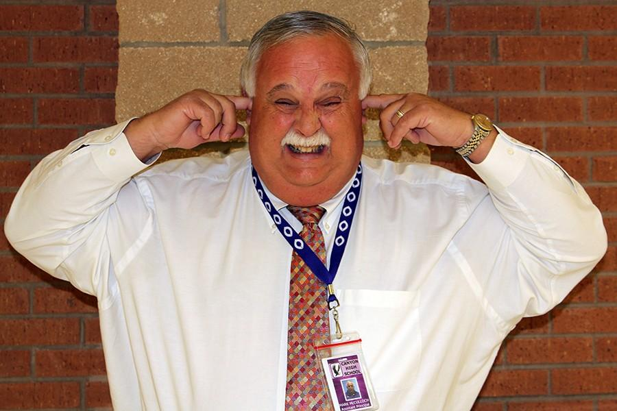 Assistant Principal Mark McCulloch is ready for students to reach their goal.