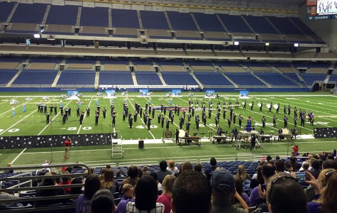Band performs at UIL State Marching Contest