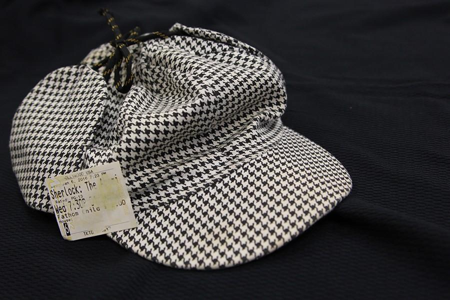 Sherlock%27s+iconic+deerstalker%2C+worn+once+again+by+the+character+in+%22The+Abominable+Bride.%22