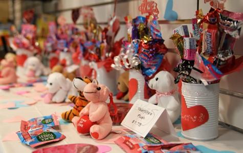 School store offers Valentine's Day merchandise