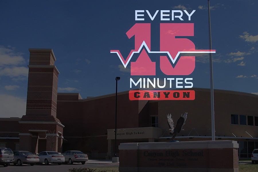 Canyon High will present  the Every 15 Minutes program April 7-8.
