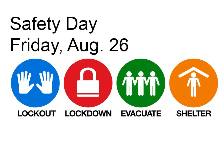 Canyon High School will run safety drills Friday, Aug. 26.