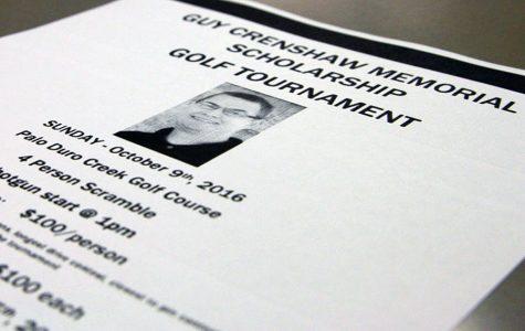 Golf tournament to benefit Crenshaw Memorial Scholarship fund