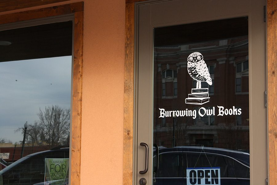 Burrowing Owl Books, a new bookstore on the square in Canyon, is open 10:30 to 7:30, Monday through Saturday.