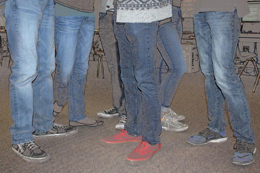 One of the top needs of homeless teens is jeans.