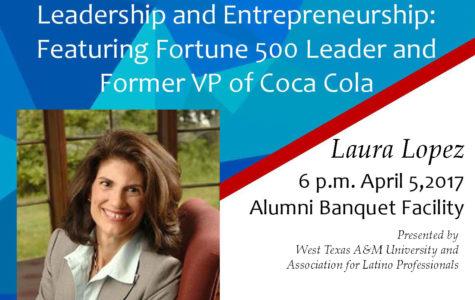 Leadership consultant Laura Lopez to speak at WTAMU April 5