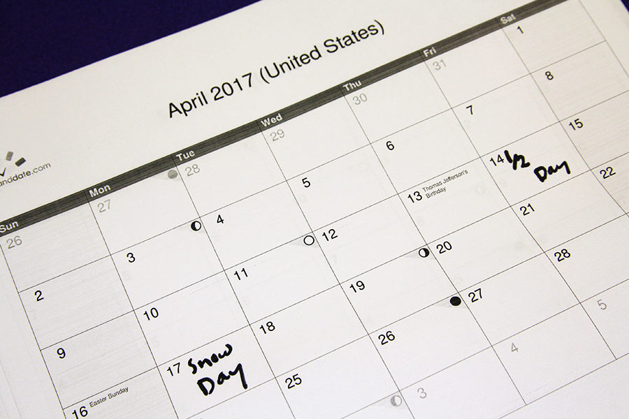 Early release scheduled for April 14, no school April 17