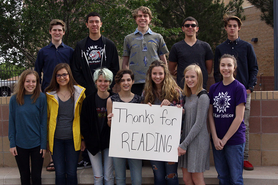 The Eagle's Tale Staff appreciates their readers.
