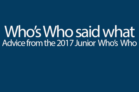 15 named Junior Who's Who