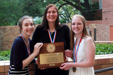 Journalism team wins UIL state championship
