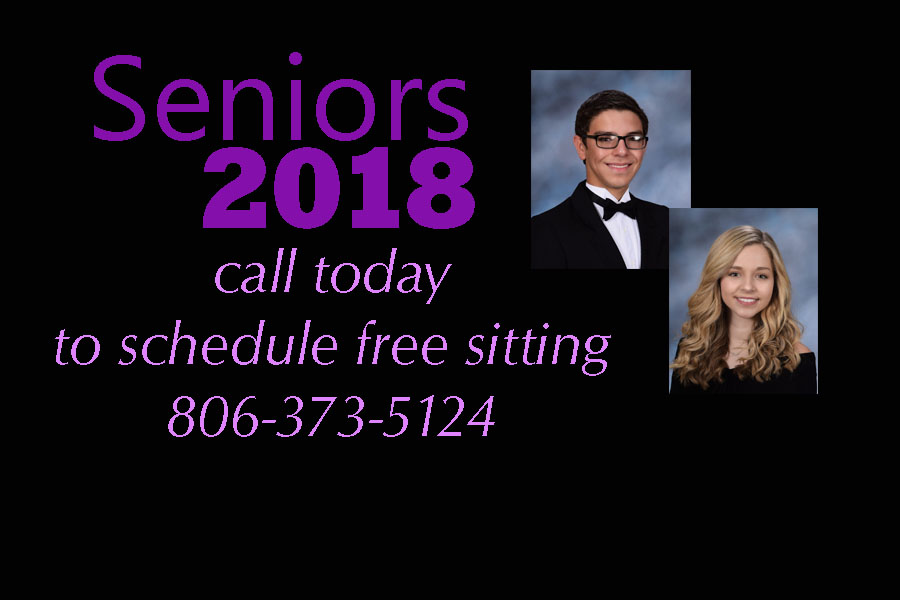 Seniors+must+schedule+appointments+and+have+their+free+yearbook+photo+taken+at+Western+Photo+before+school+starts.