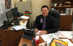 Blake Hurst was recently hired as an assistant principal.