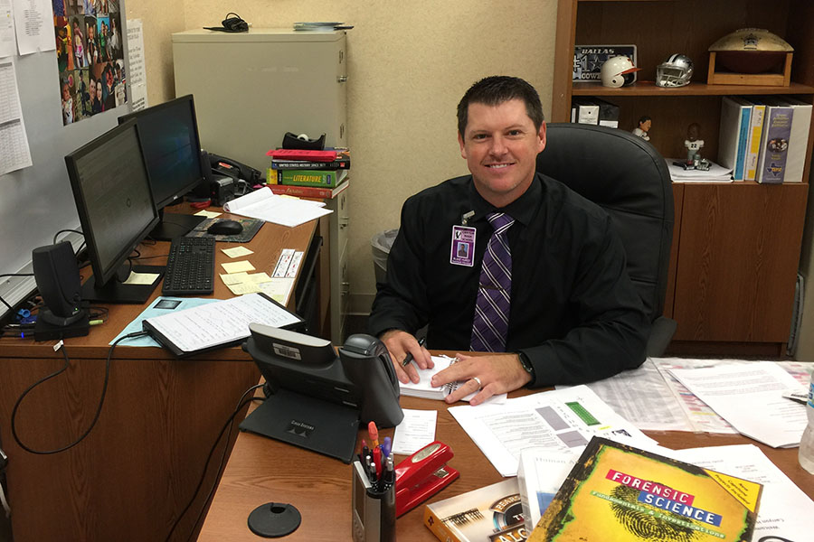 Assistant principal seeks to touch lives of students