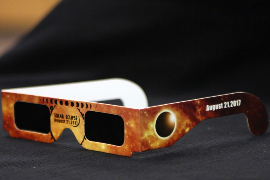 Students who wish to view the solar eclipse should wear ISO certified glasses to avoid eye damage.
