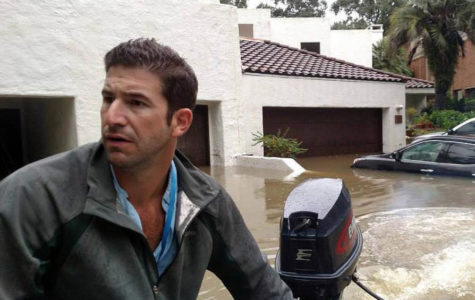 Canyon graduate braves Harvey floods, uses boat to rescue stranded victims