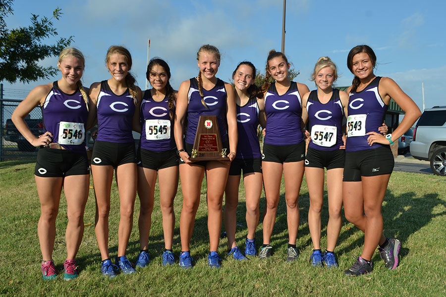 Lady Eagle cross country team looks to Canyon meet after taking title in Denton