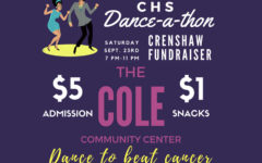The benefit dance for volleyball coach and math teacher Debra Crenshaw raised more than $6,000 from students and community members. Crenshaw is in treatment for cancer.