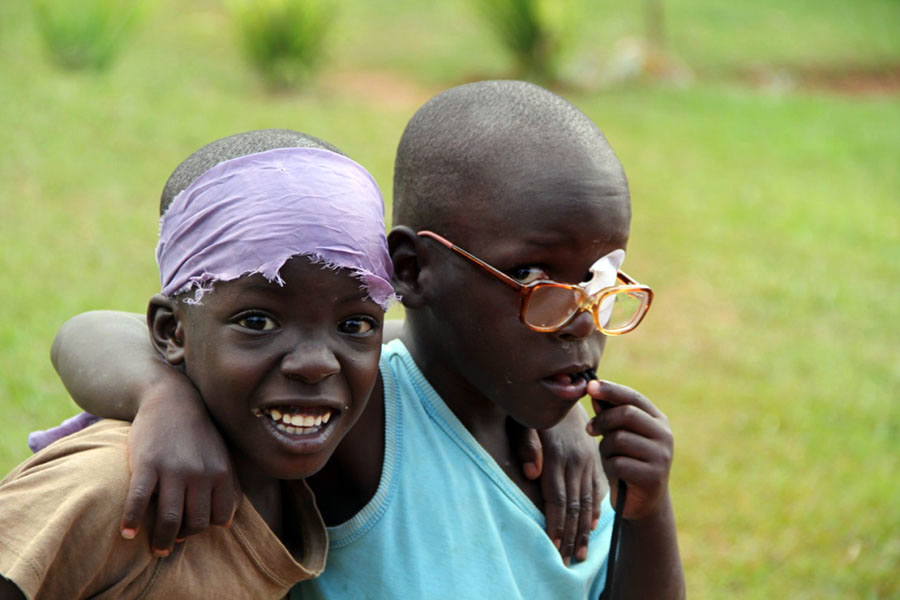 Watoto Child Care Ministries houses Ugandan orphans in a traditional family setting.
