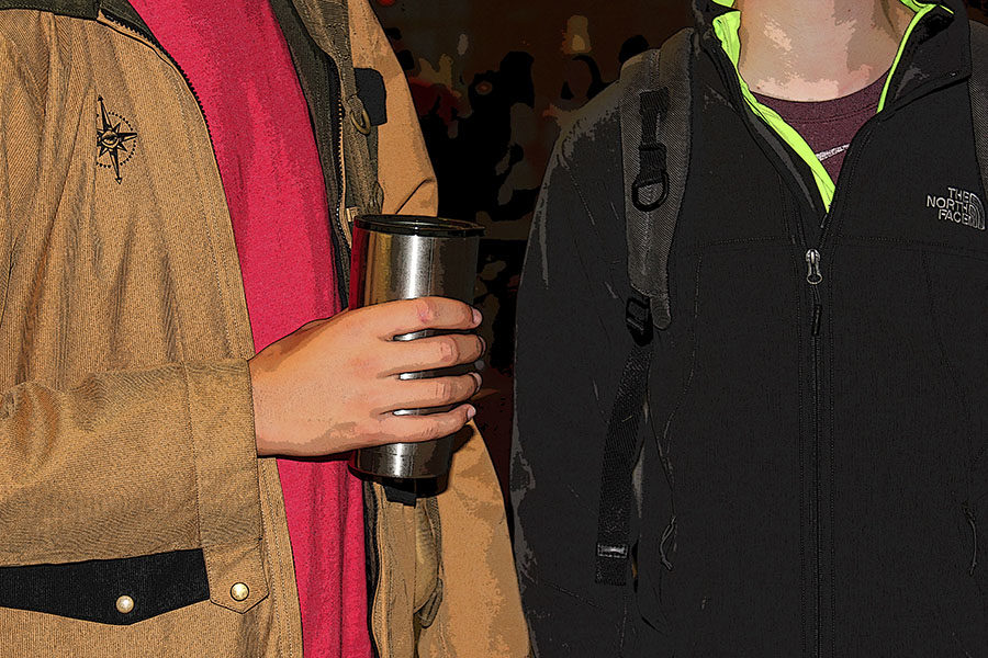 With winter weather coming soon, students who need coats can visit Freedom House during the coat give-away.