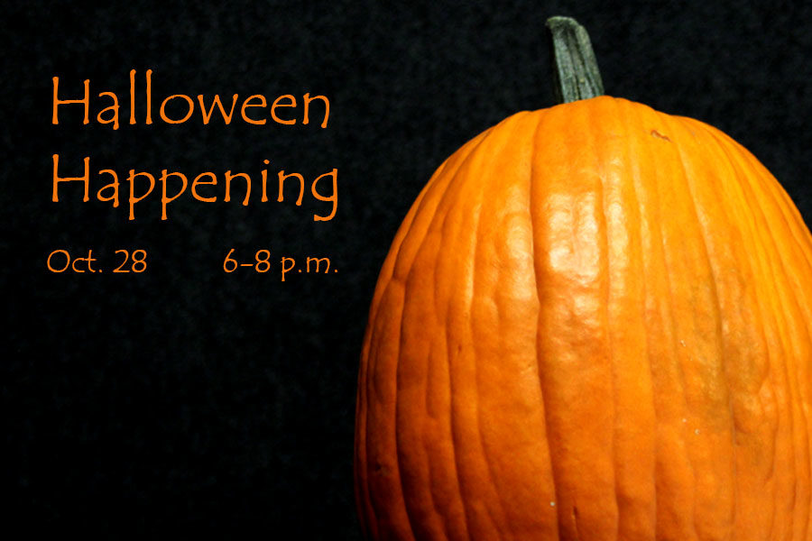 Halloween Happening will welcome children and families from 6-8 p.m., Saturday, Oct. 28.