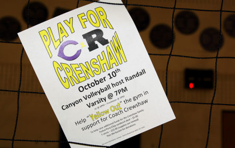 Canyon community yellows out to support coach in cancer battle