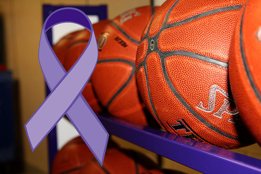 The lavender ribbon represents survivors of all types of cancers.