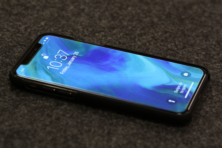Apple released the iPhone X on Nov. 3, 2017.