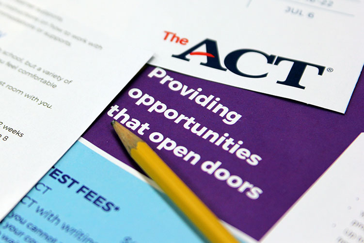Juniors will take the ACT for free on Feb. 27.