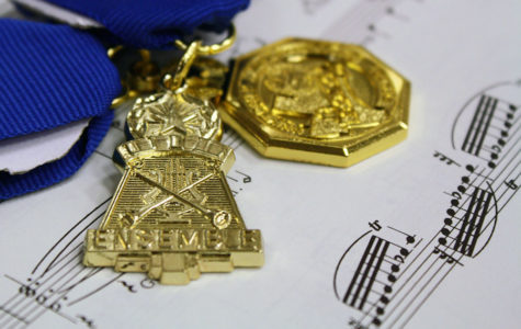 Band students compete in solo, ensemble contests