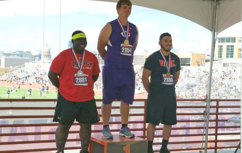 Huseman, Hughes medal at UIL State Track and Field Meet