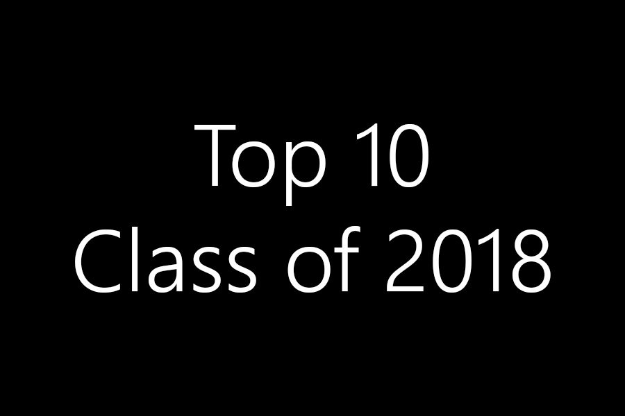 Advice from the class of 2018 top 10