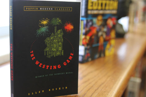 """The Westing Game,"" written by Ellen Raskin, won a Newbery Award."