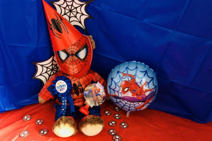 Spider-Bear+and+I+invite+you+to+celebrate+Peter+Parker%27s+birthday+with+us.