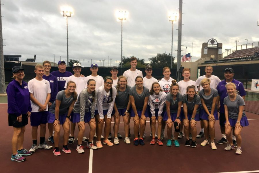 The Canyon High tennis team defeated Midlothian Heritage 10-2 in the state semi-finals to advance to the finals against Fredericksburg at Texas A&M University.
