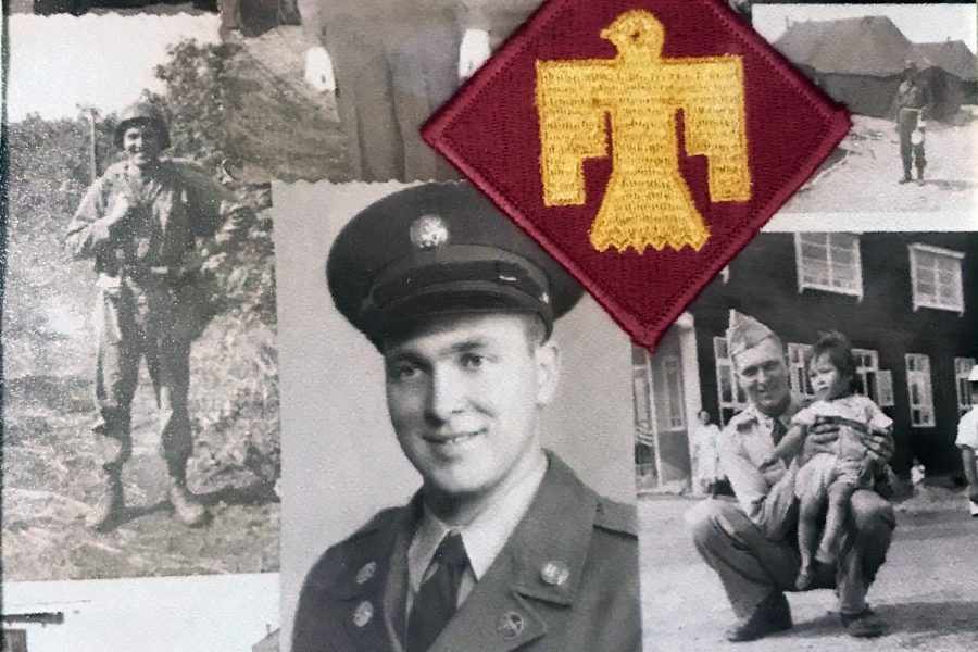 Leon+Henley+served+in+the+Army+with+the+45th+Infantry%2C+known+as+%22The+Thunderbirds%2C%22+during+part+of+his+time+in+the+Korean+War.+
