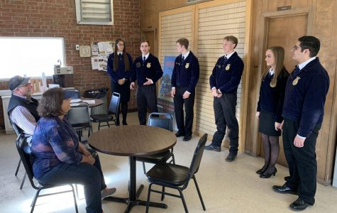 FFA Agricultural Issues team places at state contest