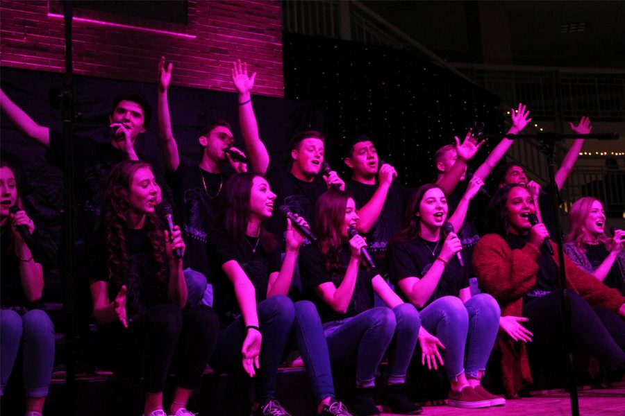 The Ovation show choir finishes When Love Takes Over from The Passion: New Orleans.