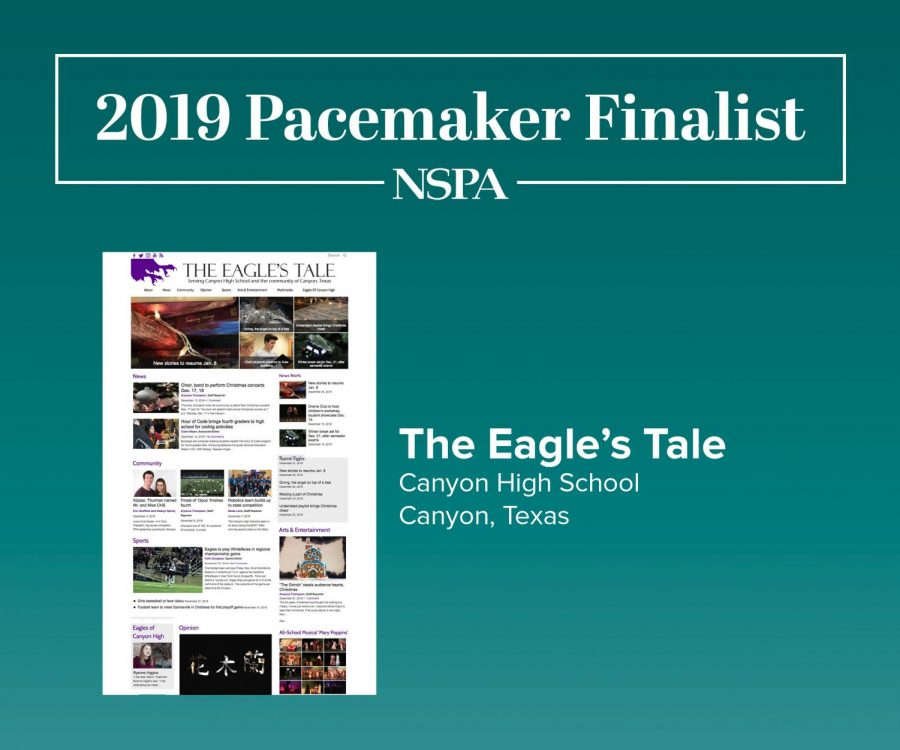 The+National+Scholastic+Press+Association+has+announced+the+2019+online+newspaper+Pacemaker+finalists.+