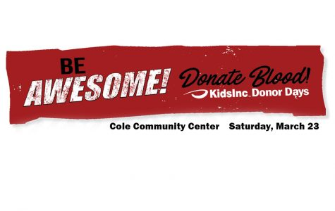 Community blood drive set for March 23