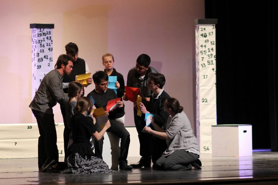 UIL One-Act Play competes with abstract show