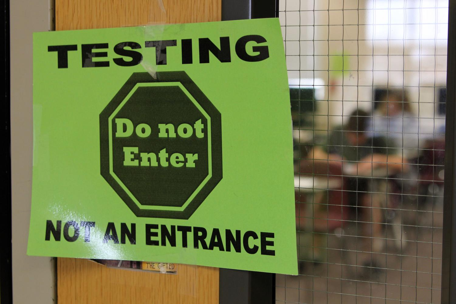 Students will begin spring end-of-course testing April 9.