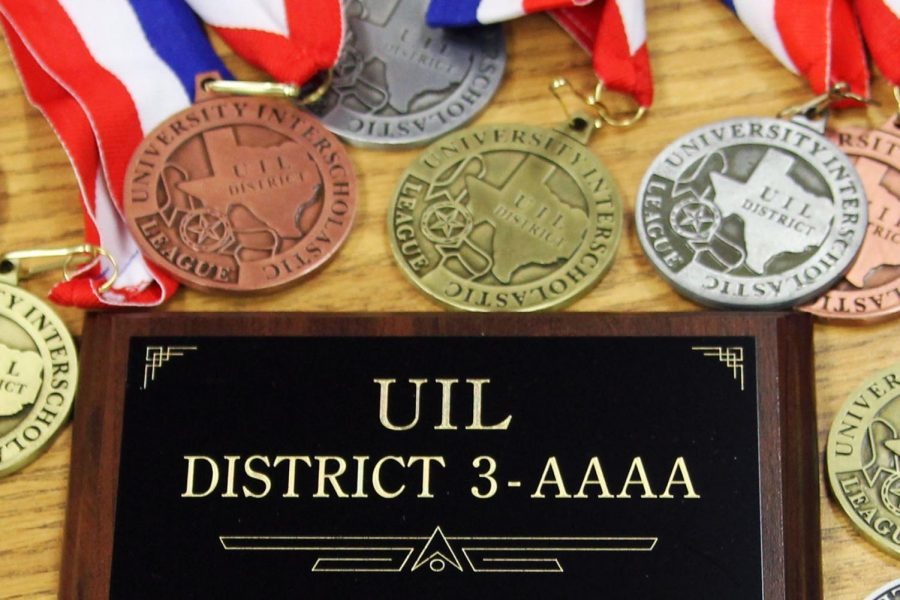 The UIL academic team earned the District 3-4A championship Friday, March 29 at West Texas A&M University.