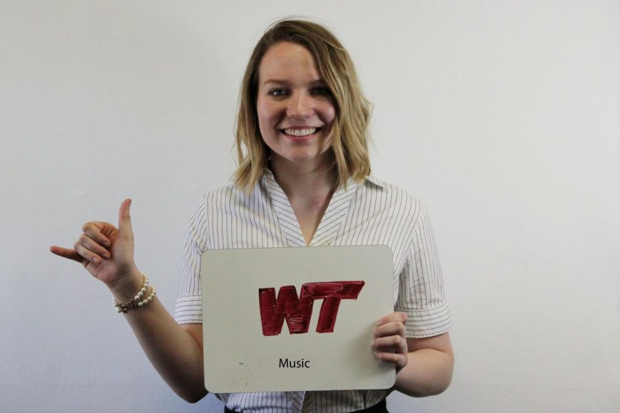 Kate McKinney will attend college at WT.