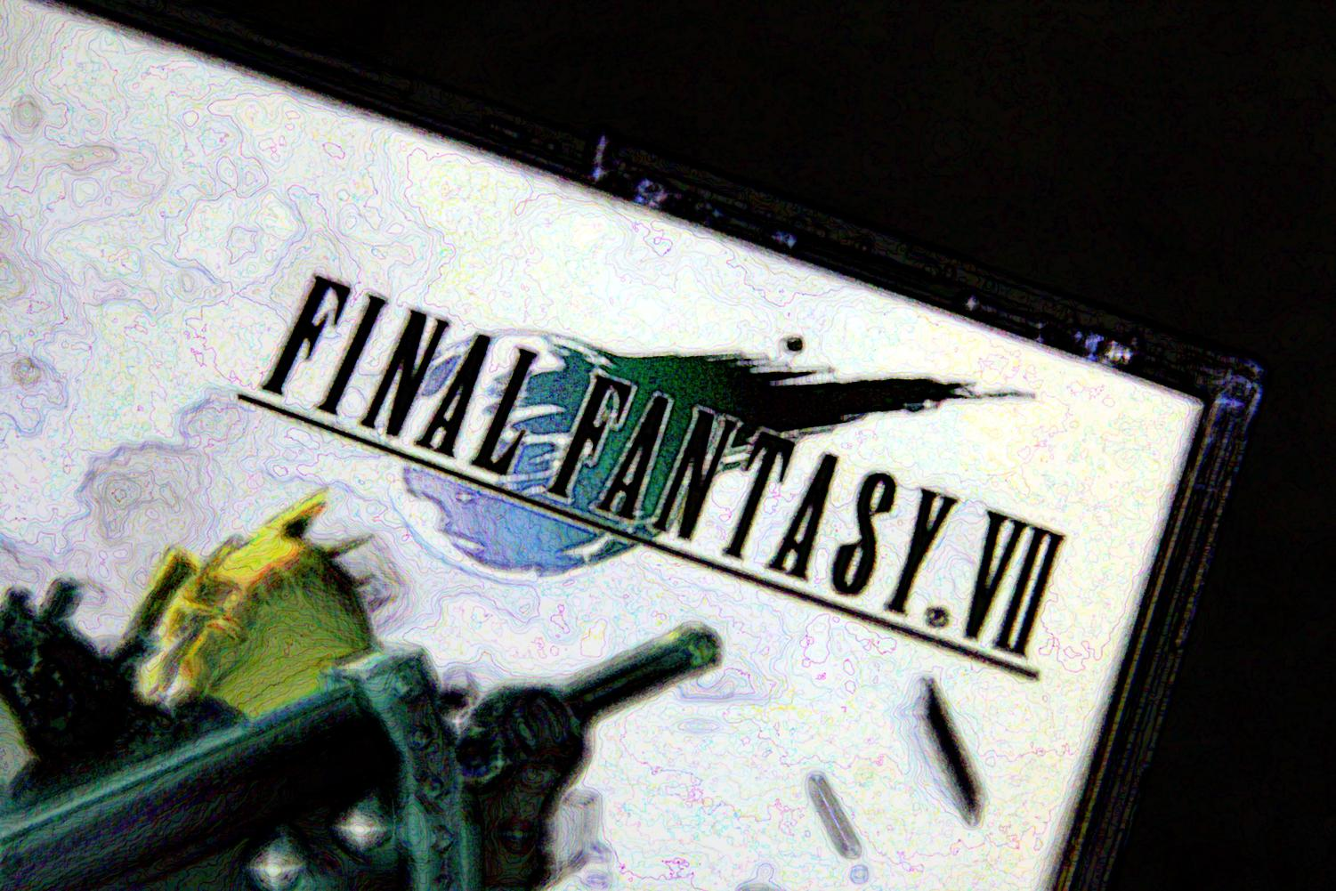Green is a prominent theme in Final Fantasy VII.