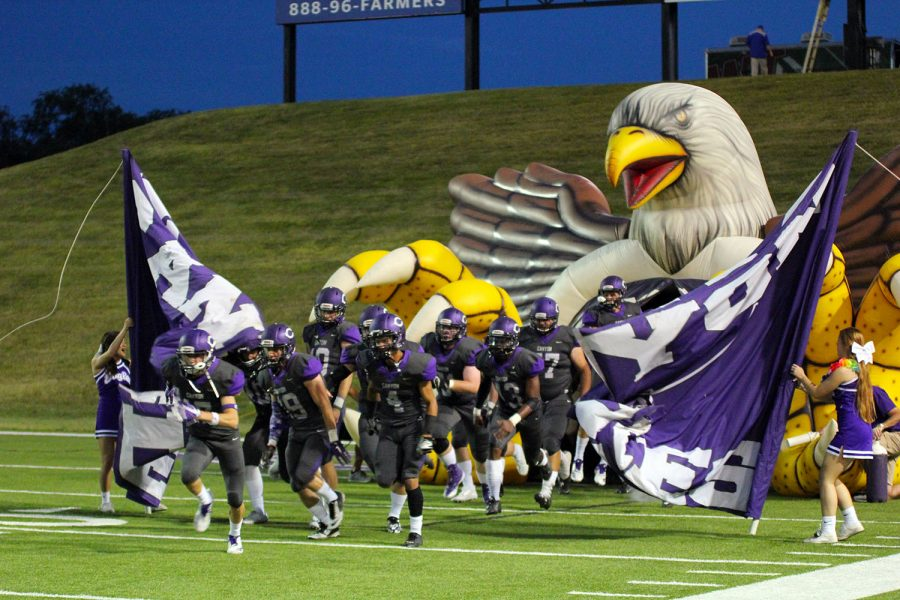 The Canyon Eagles will face Palo Duro Thursday at Dick Bivins Stadium.