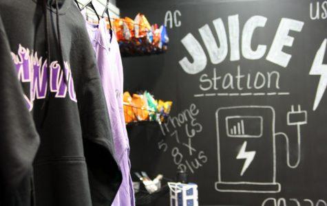 School store celebrates grand re-opening
