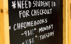 Chromebook checkout set for Monday, Tuesday
