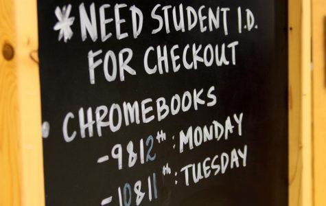 Chromebook checkout set for Monday, Tuesday