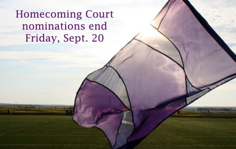 Homecoming court nominations to close Friday, Sept. 20